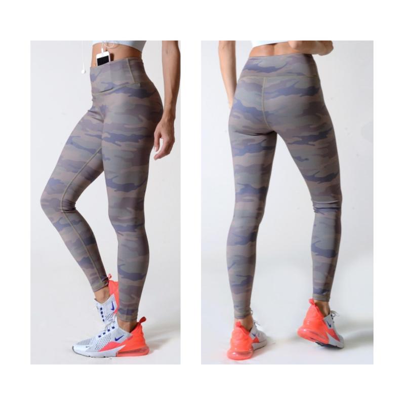 Athletic Leggings- Camo