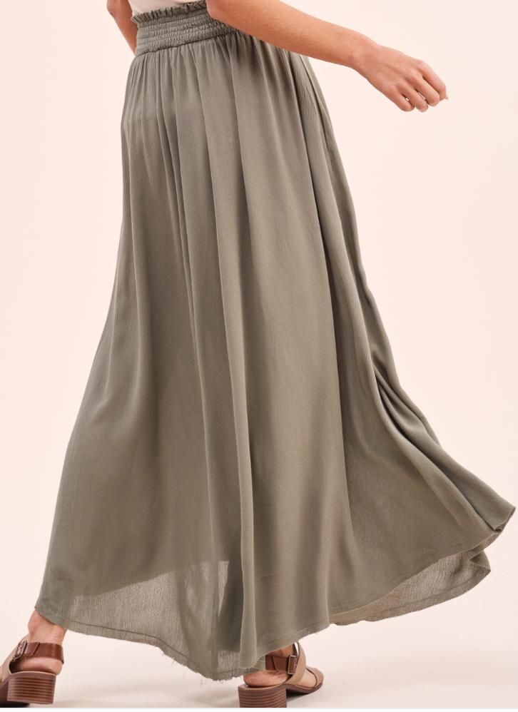 Timeless Skirt- Olive
