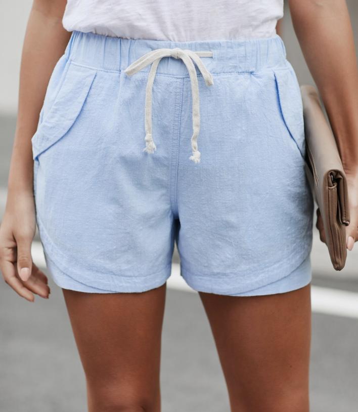 Faylin Shorts- Blue