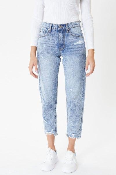 Harvey Ultra High Rise Mom Jeans- Kancan