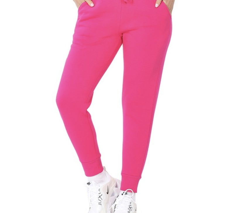 Joggers- Hot Pink