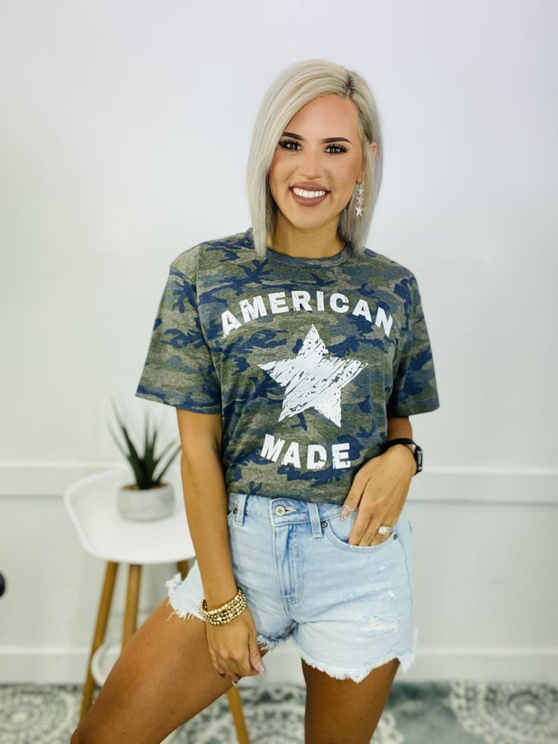 GRAPHIC TEE- AMERICAN MADE (Camouflage)