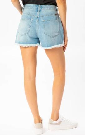 Ivanna Ultra High Rise Mom Shorts-Kancan