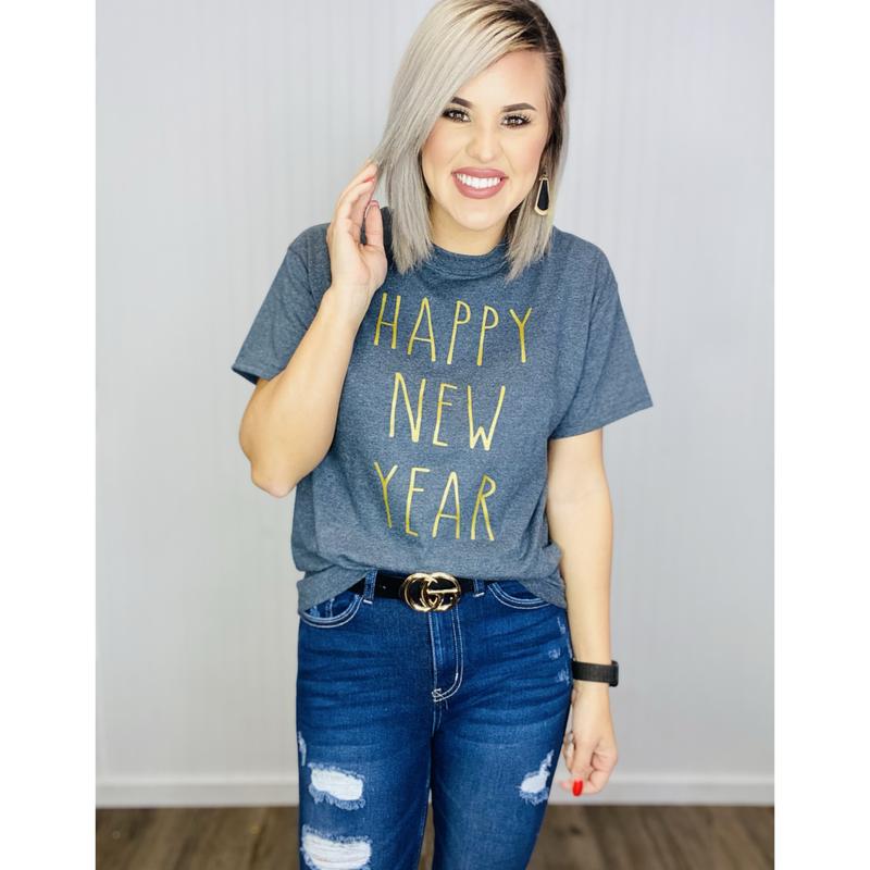 Graphic Happy New Year- Rae Dunn