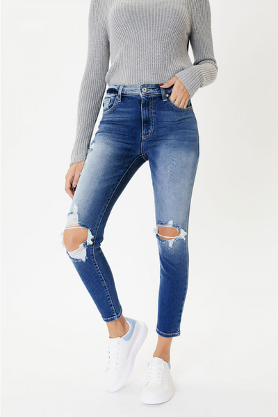 Kancan Distressed Jeans- KC8562HD