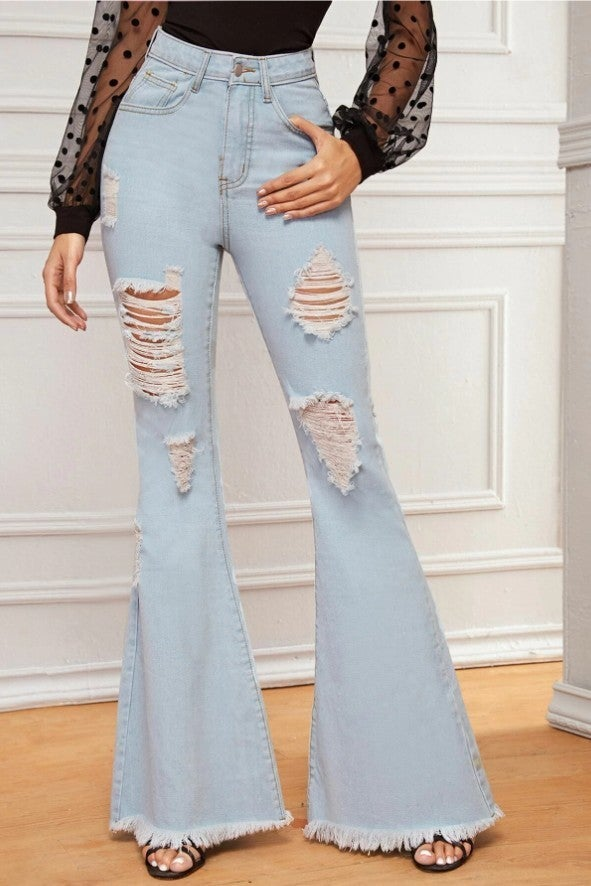 The Free Yoga Flare Jeans