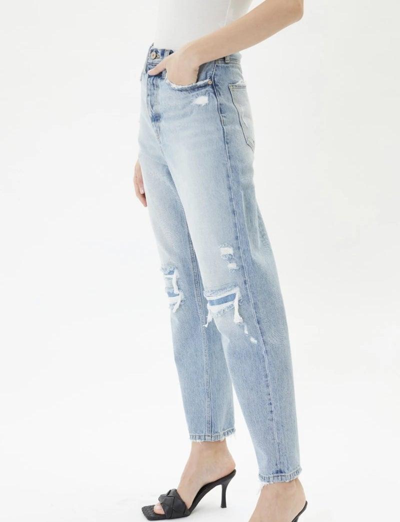 Kancan Kiara Ultra High Rise 90's Boyfriend Jeans