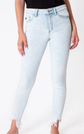Kancan HIGH RISE C&H ANKLE SKINNY- Jeans