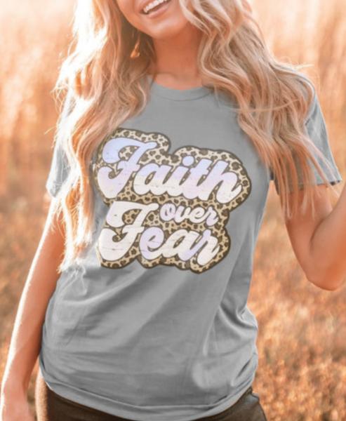 Pre-Order Faith Over Fear Graphic Tee