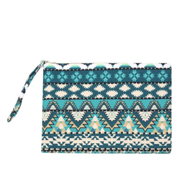 Aztec Pattern pouch