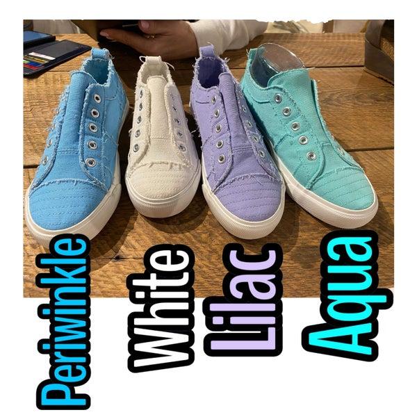 Corkys Lilac Shoes