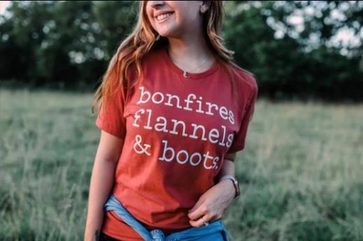 PRE-ORDER Bonfires Flannels & Boots (Rust)