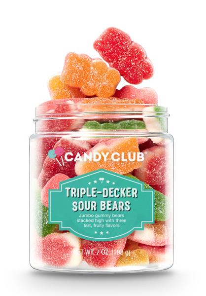 Triple-Decker Sour Bears-Candy