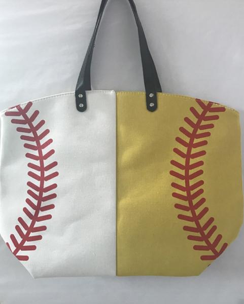 Baseball Softballl Printed Sport Bag