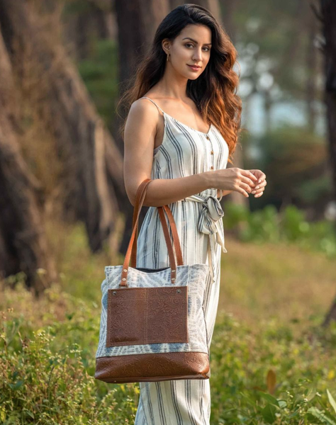 Pre-Order Urbane Elegance Tote Bag- Myra