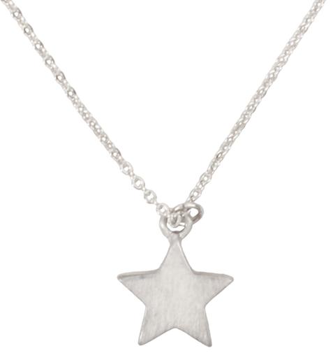 Simple Star pendant Necklace