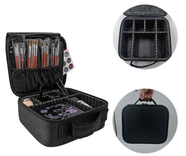 Pre-Order Black Multifunctional  Cosmetic Bag