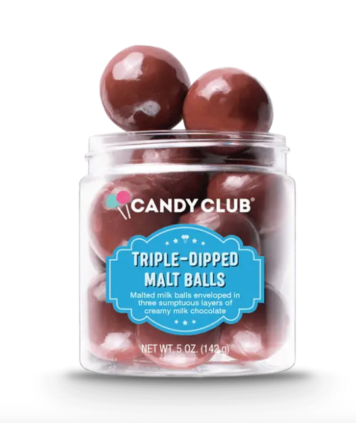 Candy Club - Triple-Dipped Malt Balls