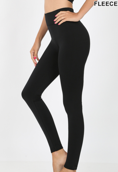 Fleece Lined Leggings - Regular