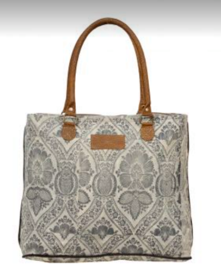 Myra - winter moon tote bag
