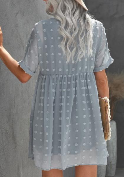 Pre-Order Fever Pitch Pom Babydoll Tunic Dress