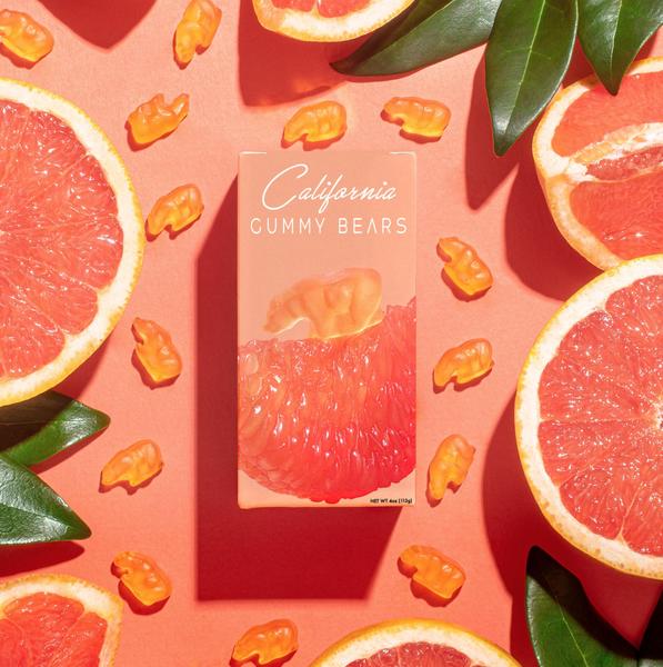 Pre-Order New Gummy Bears-All Natural-Grapefruit