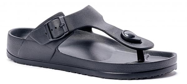 Pre-Order Corky Thong Sandals/Jetski-Black