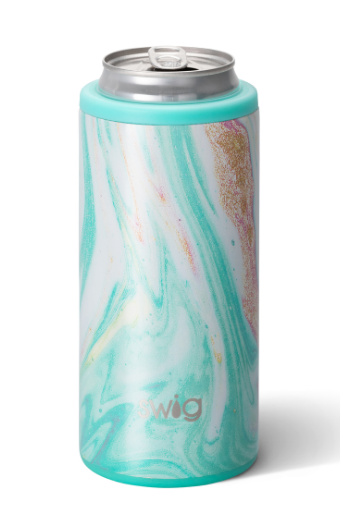 """""""Wanderlust"""" Skinny 12 Ounce Can Cooler"""