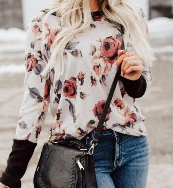 Pre-Order Vintage Vibes Floral Top