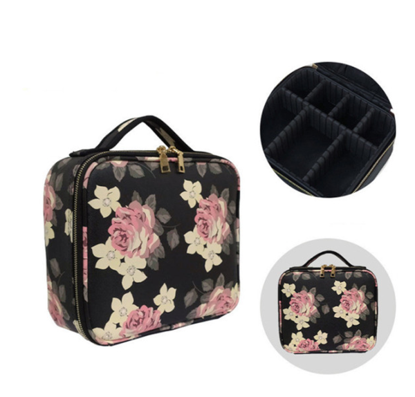 Pre-Order Floral Multifunctional Cosmetic Bag