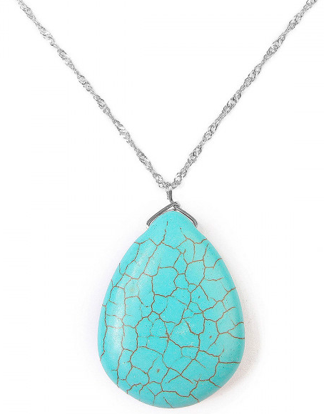 Silver/ Turquoise necklace