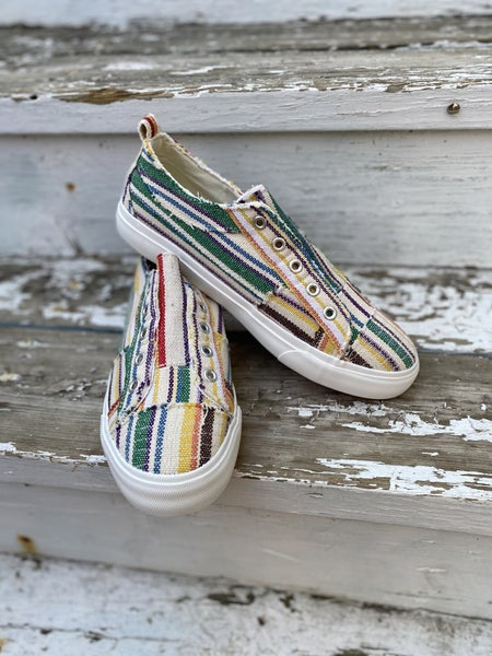 Corky Multi Stripe Shoes