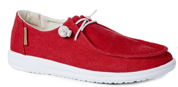 Corky Kayak Slip On Shoe- Red