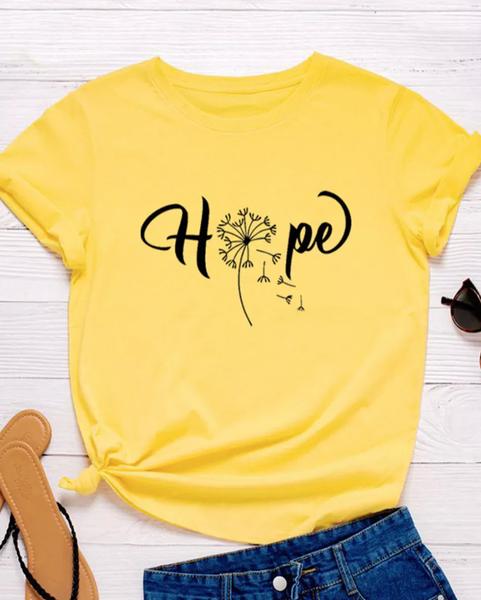 Pre-Order Yellow Hope Dandelion Tee