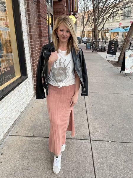 Spring Fling Sweater Skirt