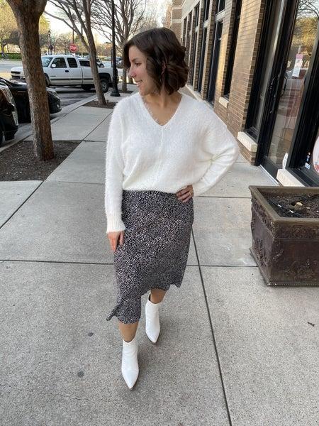 Spot On Midi Skirt