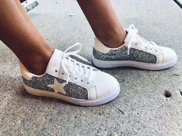 Silver Star Sneaker *Final Sale*