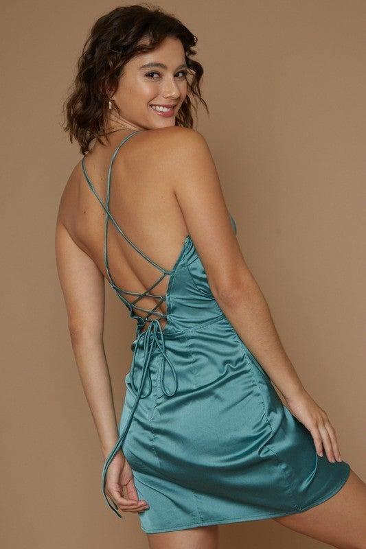 Green With Envy Mini Dress