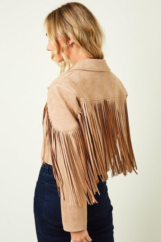 Dolly Fringe Jacket