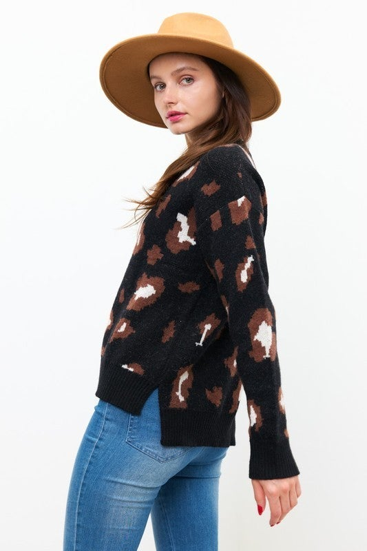 Cheetah Love Sweater