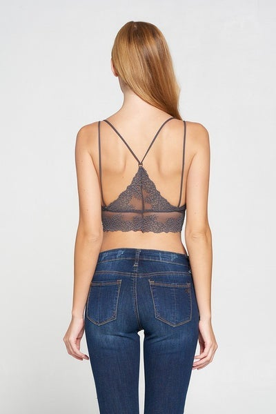 All About the Back Bralette *Final Sale*