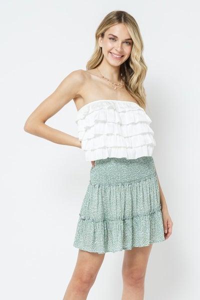 Grow Get It Floral Skirt