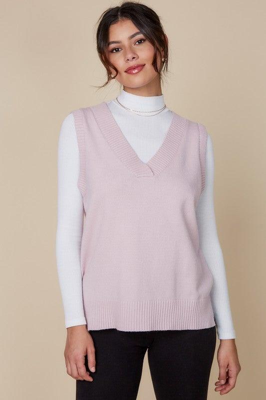 You Make Us Blush Sweater Vest *Final Sale*