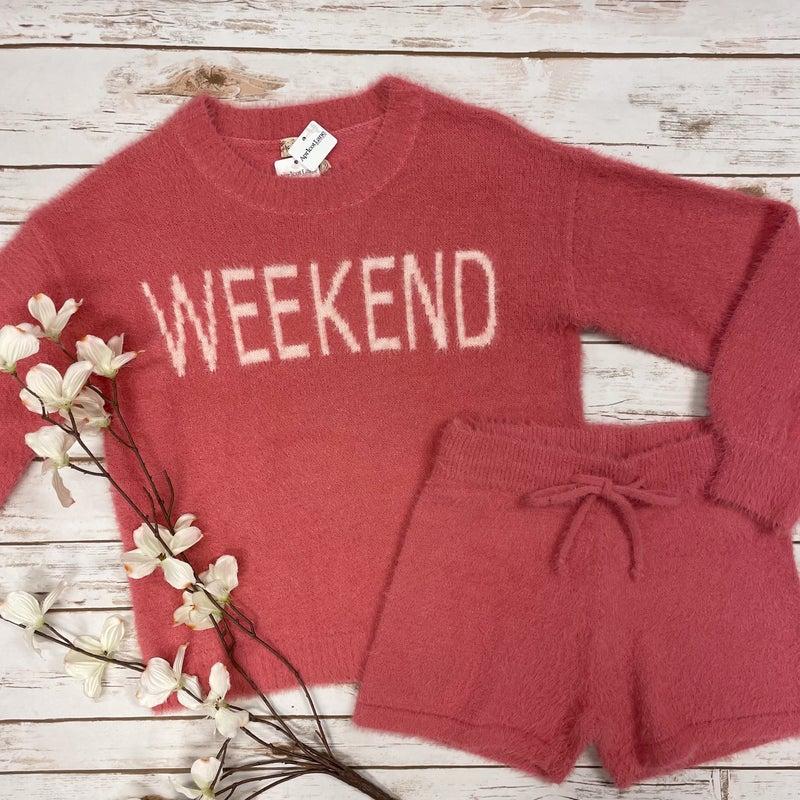Weekend Fuzzy Sweater