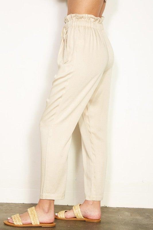 Paper Back Pants