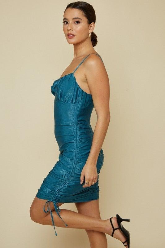 Teal You A Secret Mini Dress
