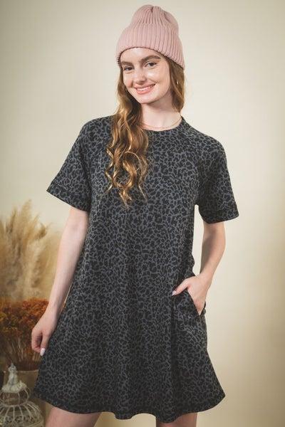 Lizzie Animal Print Dress