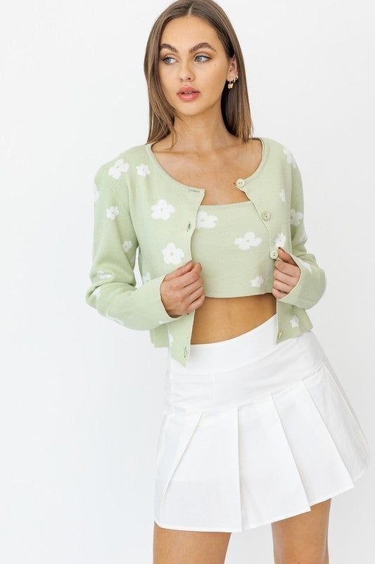 Fiona Floral Tank