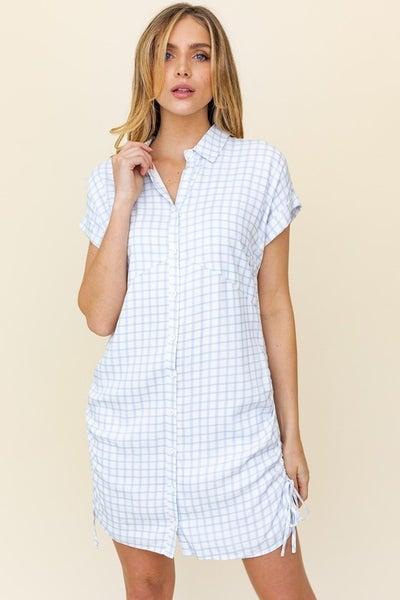 Checkin' In Shirt Dress