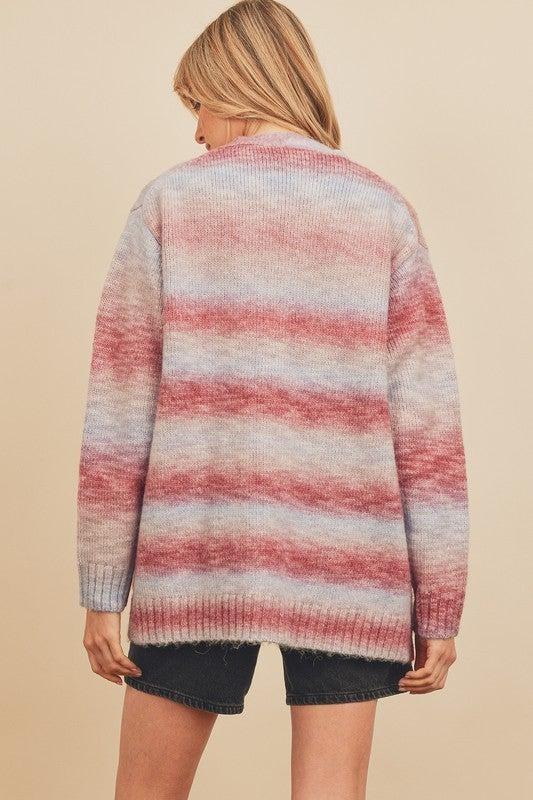 Sunset Ombre Cardigan